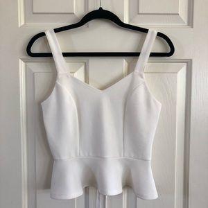 Agaci store white blouse NWOT